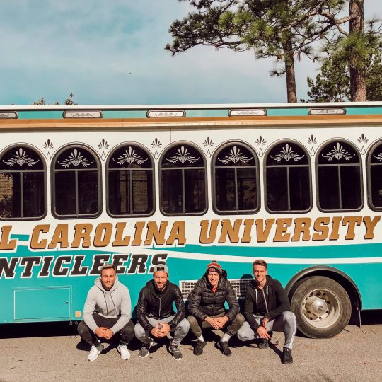 College Road Trip with Julian, Chris, Herbert, and Marvin