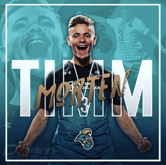 Morten Timm at Coastal Carolina University