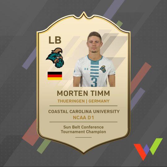Warubi Sports Player of the Week - Morten Timm