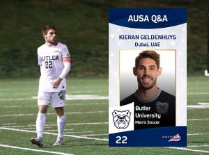 Dubai – England – USA | Interview with Butler University soccer player Kieran Geldenhuys
