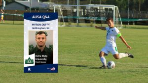 FA Youth Cup to Team Captain in the USA | Myron Duffy, Delta State University