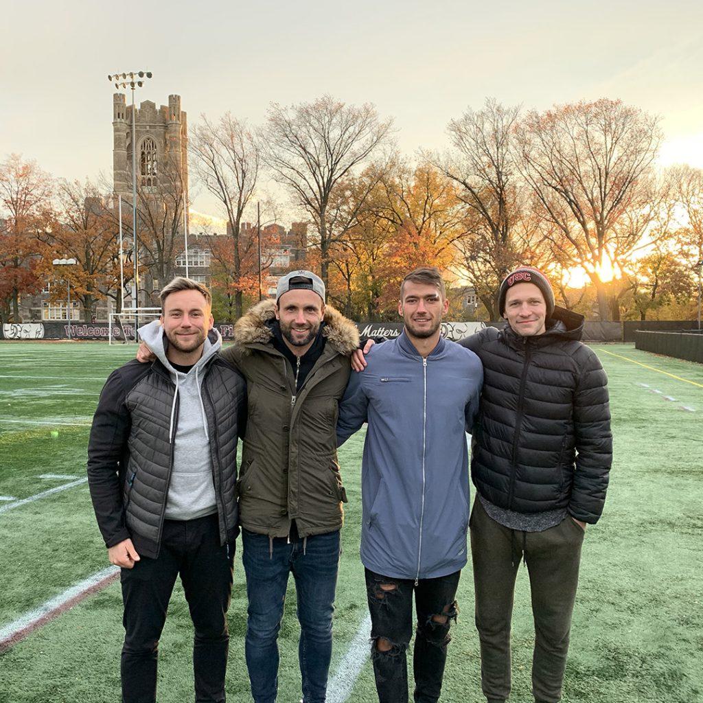 Julian, Chris, Johannes & Herbert