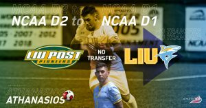 NCAA D2 to NCAA D1 | College Road Trip Station 4 - Lond Island University | Interview with Athanasios and his mother