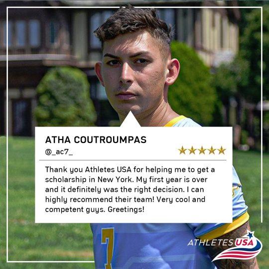 Athanasios Athletes USA review