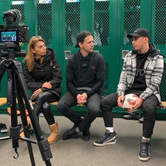 Soccer Scholarships USA | Interview with Athanasios and his mother