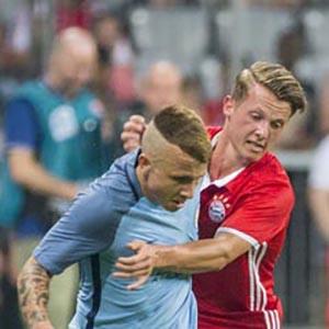 Daniel Haegler for Bayern Munich against Manchester City