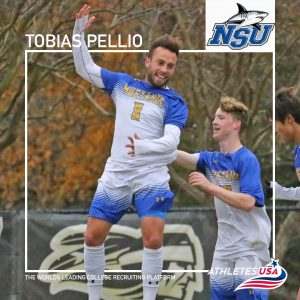 Tobias Pellio transfers to Nova Southeastern University in Florida   NJCAA transfer to NCAA