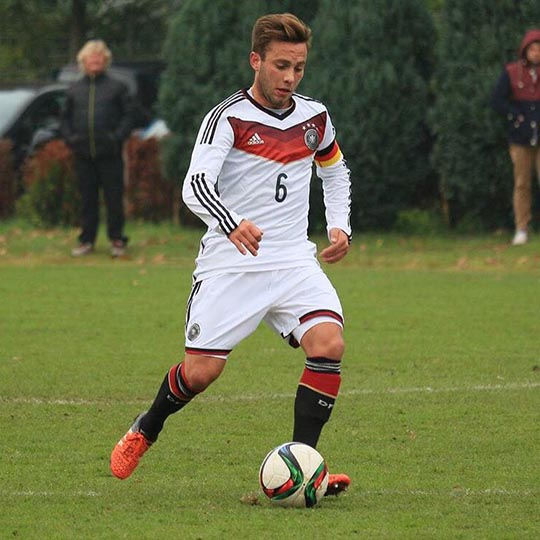 Tobias Pellio captain for German Youth National Team