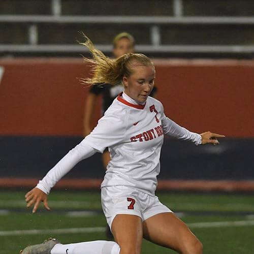 Paula at Stony Brook University | Women's Soccer Scholarships in New York