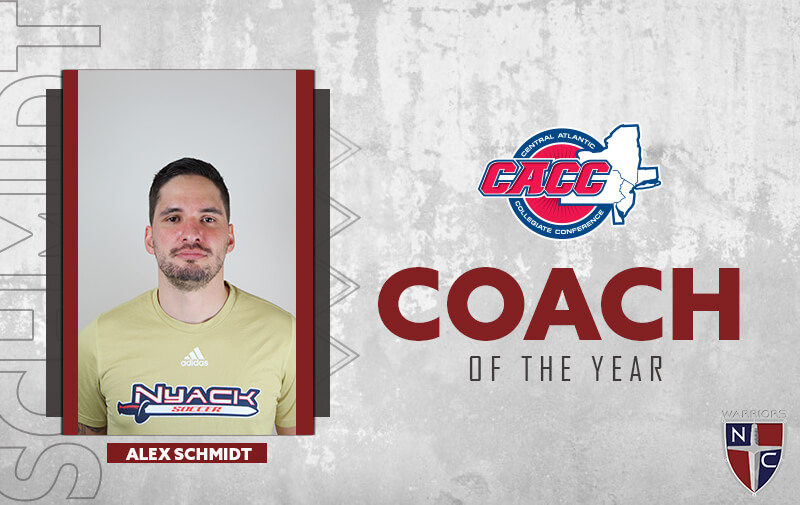 Nyack Head Coach, Alex Schmidt, CACC Coach of the Year | Coaching soccer in New York City