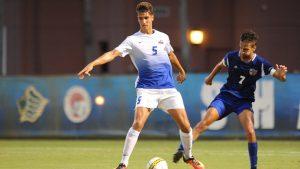 Stefan plays College Soccer at Nova Southeastern University