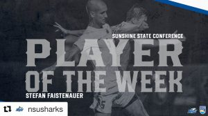 College Soccer Player of the Week